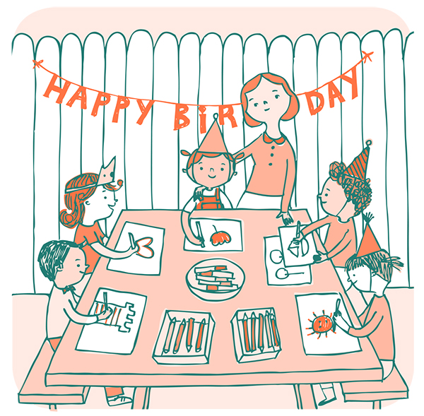 Creative Birthday Traditions from The Giant Book of Creativity for Kids