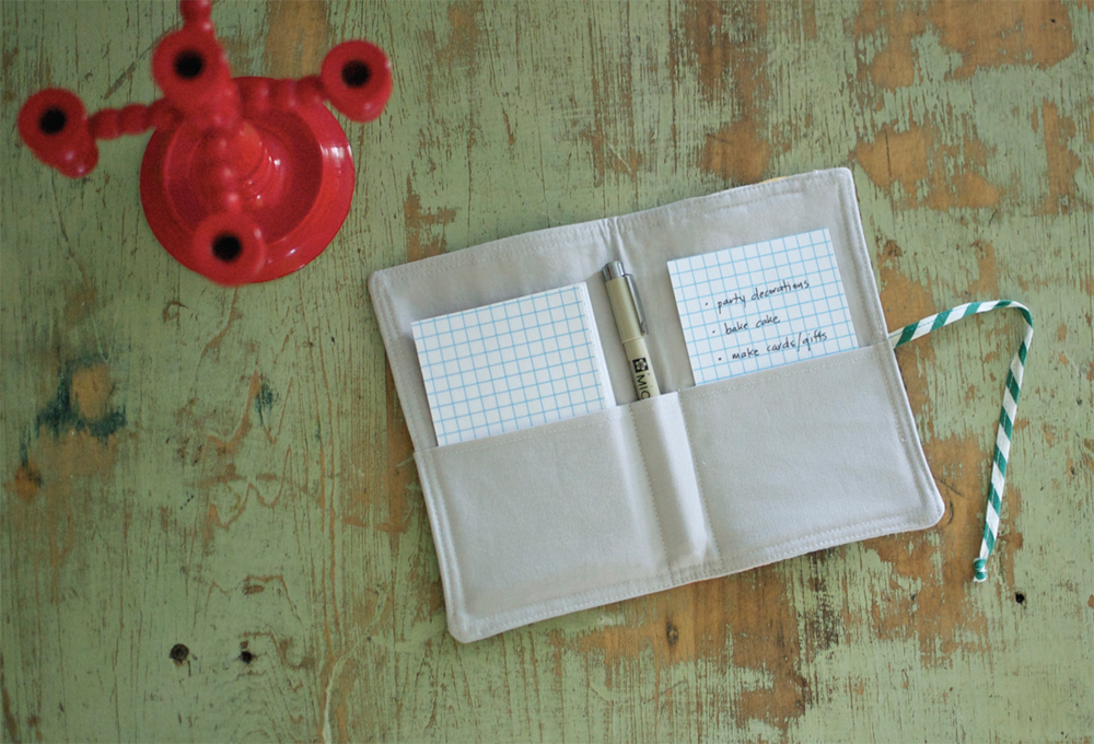 Free Project: Mix Match Note Taker from Vintage Made Modern