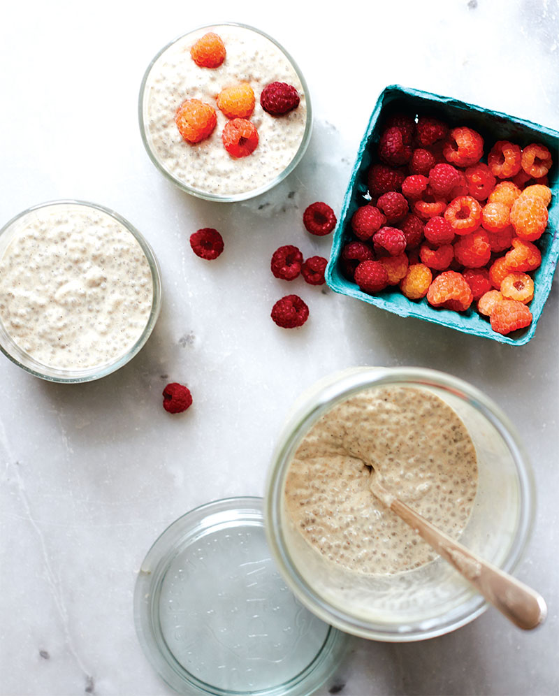 Free Project: Vanilla Chia Pudding from At Home in the Whole Food ...