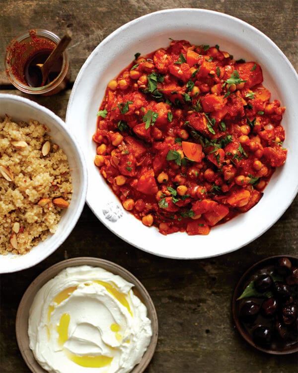 Free Project: Spicy Chickpea Stew from At Home in the Whole Food Kitchen