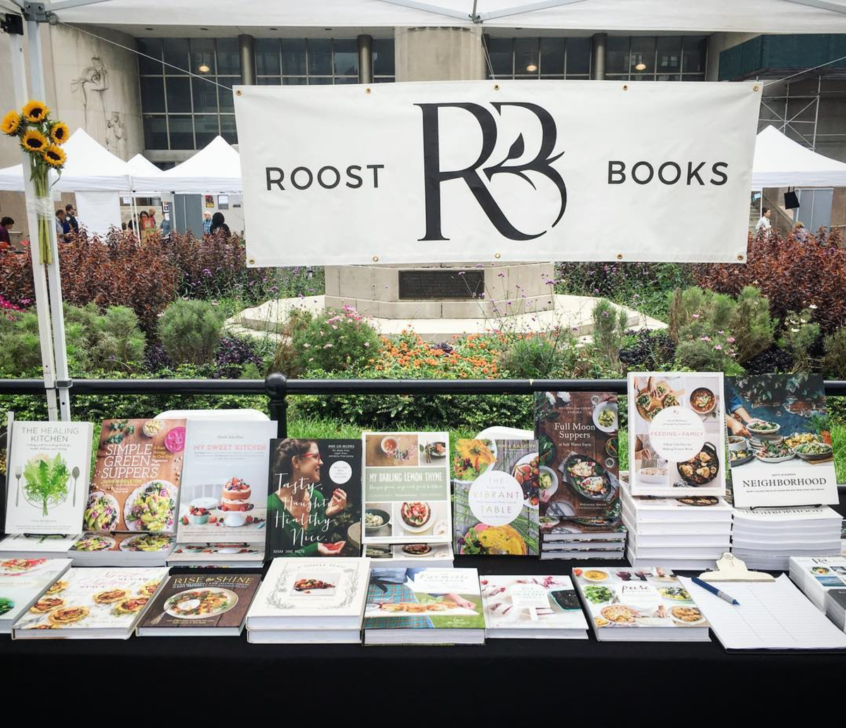Roost Books at the Brooklyn Book Festival