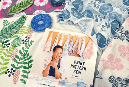 Print, Pattern, Sew author Jen Hewett on the While She Naps podcast